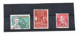 DANEMARK   3 Timbres  60  100 Et 2,80   Année 1985 Pour 1 Timbre   (oblitérés) - Non Classés