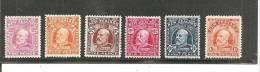 SPEZ122 / NZ Mi.124/126/127/128/130/131 * (SG 388/396/397/398/399/400 MLH) - 1907-1947 Dominion