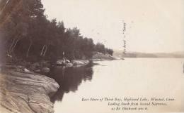 Etats-Unis - Connecticut - Winsted -  Highland Lake - Ed Hitchcock - Etats-Unis