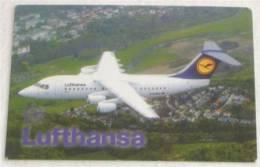 LUFTHANSA Airlines ( Croatia - Small Calendar 2004. ) * Plane Airplane Aeroplane Planes Avion - Small : 2001-...