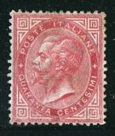 Sass 20  40 Cent. Sensa Gomma - 1861-78 Victor Emmanuel II
