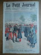LE PETIT JOURNAL N° 691 Du 14/02/1904 MEDAILLE AUX HEROS D'EL MOUNGAR ET DE TAGHIT + LA CONQUETE DU TIBET - Books, Magazines, Comics