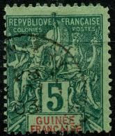 Guinée (1892) N 4 (o) - Non Classés