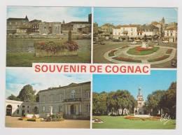 COGNAC - MULTIVUES AVEC RENAULT 4L ET CITROEN 2CV AU FOND - Cognac