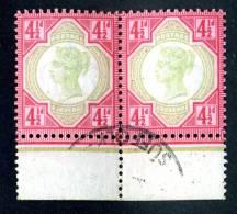 1892 GB  Sc117 Cat.$85.+ / SG#206 Cat.GBP 80.+ Used- (175 ) - 1840-1901 (Regina Victoria)
