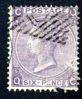1865 GB  Sc45 Cat.$85.+ / SG#97 Plate 5.+  Used Faulty- (180 ) - 1840-1901 (Viktoria)