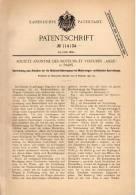 """Original Patentschrift - Société Des Moteurs """" Aigle """" In Paris , 1900 , Sperrstange Für Motorwagen , Automobile !!! - Cars"""