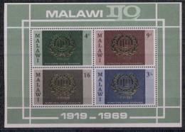 Malawi Yvertnrs: Blok 13 Postfris - Malawi (1964-...)
