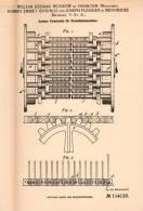 Original Patentschrift - W. Wussow In Oshkosh Und Menominee , USA , 1899 , Streichholz - Maschine , Streichhölzer !!! - Tools