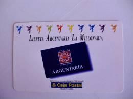 Bank/Banque/Banco Caja Postal Argentaria Pocket Calendar 1995 - Calendari