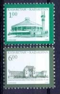 KAZ 1996-127-8 DEFINITIVE, KAZAKISTAN, 1 X 2v, MNH - Kazakhstan