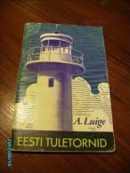 1974 ESTONIA  ESTONIAN   LIGHTHOUSES , LIGHTHOUSE - Old Books