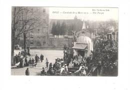 39 DOLE - Jura - Cavalcade Du 9 Mars 1913 - Fête Turque - Char Grande Animation Chien Bicyclette - édit.Vve Karrer - Dole