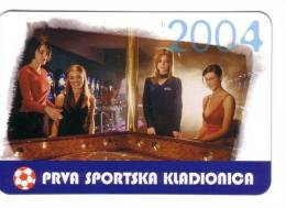 SPORTS BETTING ( Croatia Small Calendar ) Casino Lottery Lotterie Lotto Loto Football Soccer Calcio Fussball Foot Calcio - Calendarios
