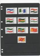 ETHIOPIA,2000,FLAGS,10v, MNH - Vlag