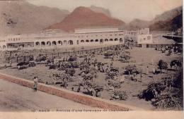 ADEN - ARRIVEE D'UNE CARAVANE DE CHAMEAUX - CARTE POSTALE NON VOYAGEE. - Yemen