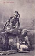 CEYLAN - TOM TOM BEATERS - CARTE POSTALE NON VOYAGEE. - Sri Lanka (Ceylon)