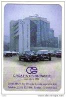 CROATIA INSURANCE ( Croatian Small Calendar ) VW Volkswagen Golf Assurance Versicherung Assicurazione Petit Calendrier - Small : 2001-...