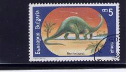 Bulgaria, 1990, USED,  # 3540 ,  Dinosaurs - Oblitérés