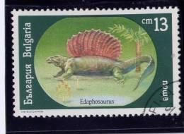 Bulgaria, 1990, USED,  # 3542 ,  Dinosaurs - Oblitérés