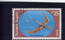 Bulgaria, 1990, USED,  # 3543 ,  Dinosaurs - Oblitérés