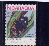 NICARAGUA, 1988, CTO # 1730, INCESTS - Nicaragua