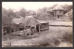 PH6) Bario, Philippines - Native Blacksmith Shop - RPPC - Filippine