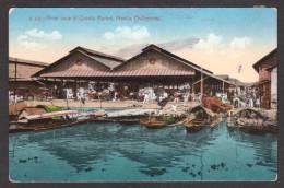 PH11) Manila, Philippines - River View Of Quinta Market - Filippine