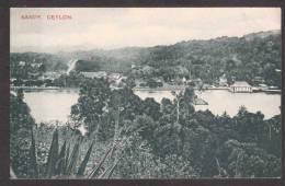 SR15) Ceylon - View Of Kandy - Sri Lanka (Ceylon)