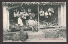SR23) Colombo, Ceylon - Native Fruit Shop (Boutique) - Sri Lanka (Ceylon)