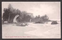 SR24) Ceylon - Mount Lavinia Hotel And Sea-Shore - Sri Lanka (Ceylon)