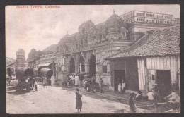 SR25) Colombo, Ceylon - Hindoo Temple - Sri Lanka (Ceylon)