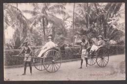 SR26) Colombo, Ceylon - Ginrickshas / Rickshaws - 1910 - Sri Lanka (Ceylon)
