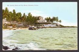 SR28) Colombo, Ceylon - Lavinia Hotel And Sea Shore - Sri Lanka (Ceylon)
