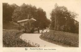 MONDORF Les BAINS - Source Marie Adélaïde - Plan Animé - TBE - Edition E.A. Schaack - 2 Scans - Mondorf-les-Bains