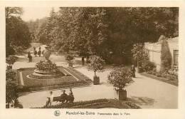 MONDORF Les BAINS - Promenade Dans Le Parc - Plan Animé - TBE - Edition E.A. Schaack - 2 Scans - Mondorf-les-Bains