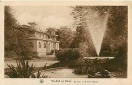 MONDORF Les BAINS -  Au Parc , La Grande Piscine - TBE - Edition E.A. Schaack - 2 Scans - Mondorf-les-Bains