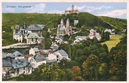 CLERVAUX - Vue Générale Colorisée - Edition Marcel Gehlen - 2 Scans - Clervaux