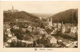 CLERVAUX - Panorama , Vue Générale  - Edition E.A. Schaack - 2 Scans - Clervaux