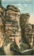 ECHTERNACH - Petite Suisse - Rochers De La Kohlscheuer - Edition Bellwald - Carte Colorisée - 2 Scans - Echternach