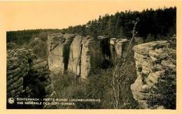 ECHTERNACH - Petite Suisse - Vue Générale Des Sept Gorges - Edition E.A. Schaack  - TBE - 2 Scans - Echternach