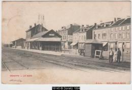 16145g GARE - AGUILLAGE - Genapppe - 1903 - Genappe