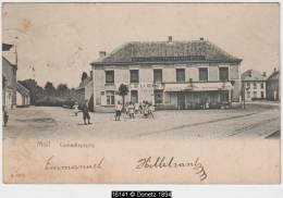 16141g HOTEL - CAFE - RESTAURANT De La Belle Vue - Comedieplaats - Moll - Mol