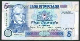 SCOTLAND , 5 POUNDS 13.9.1996 . P-119b - [ 3] Scotland