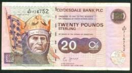 SCOTLAND , 20 POUNDS 19.6.2002 . P-228c - [ 3] Scotland