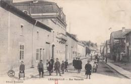 LEROUVILLE - Rue Nationale 1908 (animée Enfants ) (lire Description) Dép55 - Lerouville
