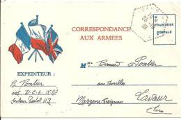 Carte FM   - 1939 - Tarjetas De Franquicia Militare