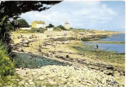 JARD SUR MER PLAGE DE LA CONCHETTE ,BEAU PLAN ANIME,COLORISEE REF 28941 - Francia