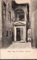 1930 SIENA CASA DI SANTA CATERINA INGRESSO FP NV SEE 2 SCAN - Siena