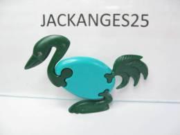 KINDER PUZZLE PLASTIC K96 N 9 1998  SANS OHNE WITHOUT BPZ - Puzzles